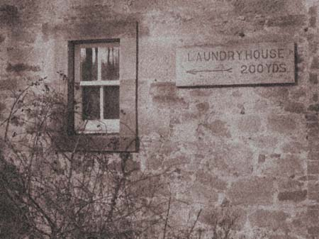 Dalkeith Palace Laundry House sign
